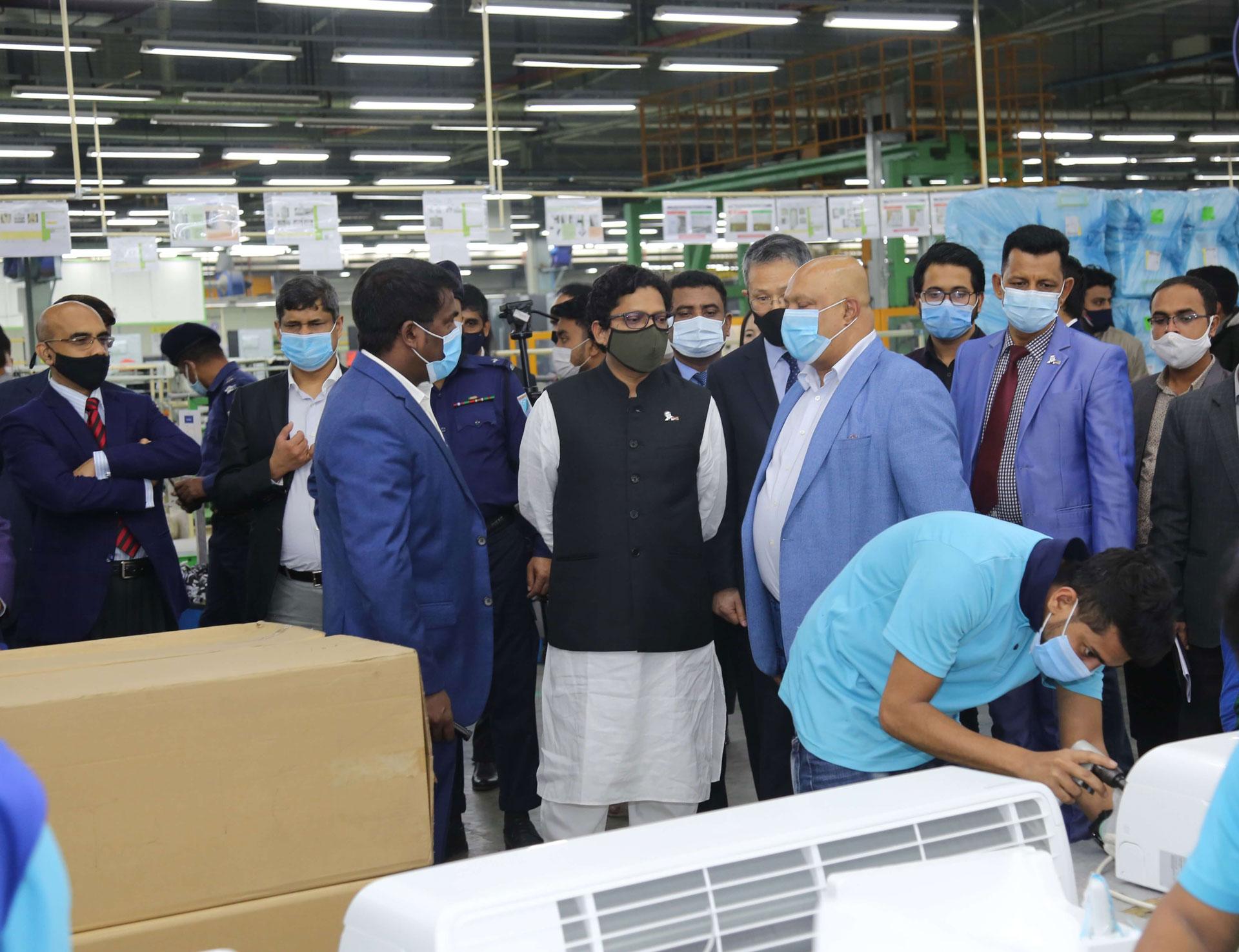 Samsung AC Factory